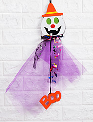 1PC The Haunted House Bar Scene Props Halloween Pumpkins Skeleton Garland Decoration Supplies