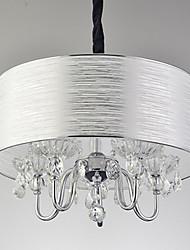 Závěsná světla ,  moderní - současný design Galvanicky potažený vlastnost for Křišťál návrháři KovObývací pokoj Ložnice Jídelna studovna