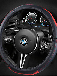 Leather Car Steering Wheel Sets Of High-Grade Head Gas Sweat