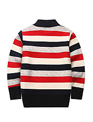 Boy's Casual/Daily Striped Sweater & CardiganCotton Winter / Fall Red