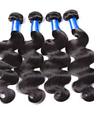 8A Malaysian Virgin Hair Weft 4pcs Hair Bundles Unprocessed 100% Human Virgin Hair Weft Malaysian Weaves Weft Hair