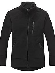 Men's Fleece Jackets / Tops Exercise & Fitness / Racing / Team Sports / Downhill / Running Thermal / Warm / Windproof / Comfortable Winter