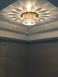 LED Corridor Lighting Design Ceiling Lights Warm White / Cool with White Crystal
