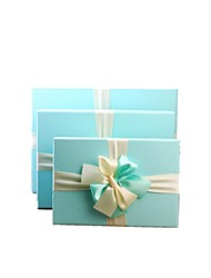 Note L Yards 33.0*25.0*11.5 cm M Yards 29.0*21.0*9.5 cm S Yards 24.5*17.0*6.5 cm Rectangle Special Paper Gift Box 3 Times