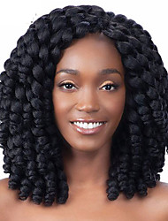 3pieces Bouncy Curl HavanaTwist crochet Braids Hair Extensions 12 inch  Kanekalon synthetic braid hair extension