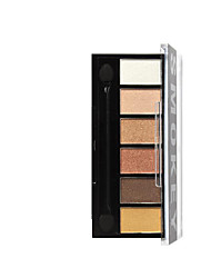 6 Powder Dry Pressed powder Moisture / Whitening / Oil-control / Concealer Face Multi-color Other 1