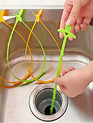 Kitchen Pipe Dredging Hook  Dredging Device For Sewer  Domestic Sink Drainage  Clean Kellogg Hook Hook  (Random Colour)
