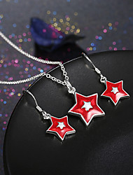 The Christmas Star Pendant Set