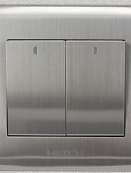 20v élégant panneau de prise de l'interrupteur mural blanc
