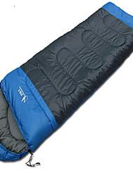 Saco de dormir Retangular Solteiro (L150 cm x C200 cm) 10 AlgodãoX30 Equitação Campismo Viajar Exterior InteriorProva-de-Água Portátil Á