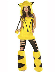 Cosplay Festival/Holiday Costumes Dress / Hat / Leg Warmers Female Polyester