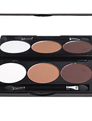 3 Highlighters/Bronzers Dry Powder Long Lasting / Natural Eyes / Face Multi-color DANNI