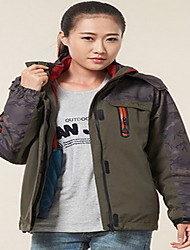 Hiking Tops Women's / Men's Waterproof / Thermal / Warm / Windproof / Insulated / Comfortable Spring / Fall/Autumn / WinterRed / Gray /