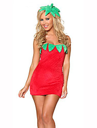 Fruit Suit Festival/Holiday Costumes Dress / Hat Female Polyester