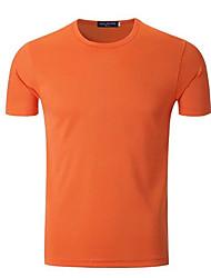 Corrida Camiseta Manga Curta Respirável / Secagem Rápida Poliéster Ciclismo/Moto Wear Sports Stretchy SoltoRoupas para Lazer / Roupas