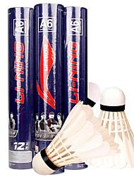 Badminton Volants de plumes Haute élasticité Durable Stabilité pour Intérieur Extérieur Utilisation Exercice Sport de détentePlume de