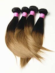 4 Pièces Droit (Straight) Tissages de cheveux humains Cheveux Malaisiens 0.2kg 8-30 inch Extensions de cheveux humains