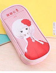 Sweet Princess Pu Pen Bag Pencil Case
