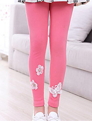 Girl Casual/Daily Print Pants-Cotton Fall