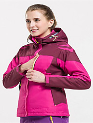Sports Ski Wear Softshell Jacket / Windbreakers Women's Winter Wear Chinlon Winter ClothingWaterproof / Thermal / Warm / Windproof /