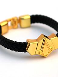 Mehre Accessoires Inspiriert von Meuchelmörder Cosplay Anime Cosplay Accessoires Armbänder Gold Legierung / PU Leder