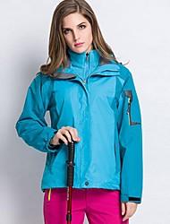 Wandern Softshell Jacken DamenWasserdicht / Atmungsaktiv / Windundurchlässig / Fleece Innenfutter / Isoliert / Reißverschluß vorne /