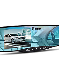 DOD LX550W DODTIOTECH DODTIOTECH 1080p DVR coche 4'3 Pulgadas Pantalla A8 Dash Cam