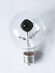 G80 Edison Flame Bulb Rose 3W Night Light Decorative Lamp