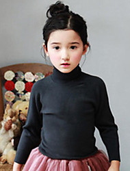Girl Casual/Daily / Sports Solid Sweater & Cardigan,Cotton Winter / Fall Long Sleeve