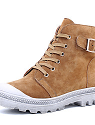 Women's Fall / Winter / Fashion Boots/Suede /Round Toe/Platform /Party & Evening/ Dress /Casual/Lace-up