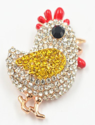 Women's Brooches Simulated Diamond Fashion Jewelry Daily