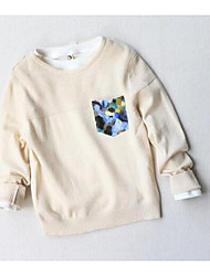 Boy Casual/Daily Solid Blouse,Wool Blend Fall
