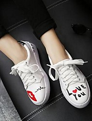 Women's Sneakers Comfort PU Casual White