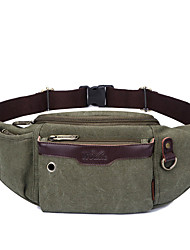 10 L Belt Pouch/Belt Bag Breathable Black / Brown / Army Green