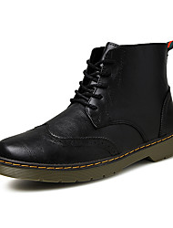 Men's Popular Boots Comfort Leather Outdoor/Casual Walking High Top Youth Martin Boots