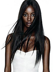 HOT Sale! 100% Human Virgin Remy Hair Full Lace & Lace Front Wig Black Natural Straight Lace Wig With Baby Hair