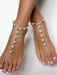 Women's Anklet/Bracelet Pearl Resin Beaded European Handmade Jewelry For Party Daily Casual