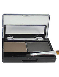 Powder Dry Eyes 12 Han Yan color eyebrow makeup is not easy to halo makeup beauty