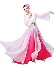 Costumes de Cosplay Fête / Célébration Déguisement Halloween Incarnadin Couleur Pleine Collant/Combinaison / Coiffure Féminin