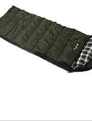 Sleeping Bag Rectangular Bag Double 10 Hollow Cotton 1000g 200X75 Camping / Traveling / IndoorWaterproof / Rain-Proof / Windproof /