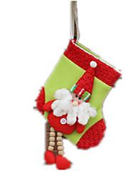 Decoração Decoração Para Festas Ternos de Papai Noel / Elk / Boneco de neve Tecido Para Meninos 5 a 7 Anos