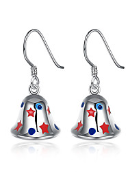 Women Christmas Gift The Bell Eardrop Ear Hook Earrings