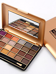 Women Pro Cosmetic Makeup 24 Full Colors Eyeshadow Palette Eye Shadow Waterproof Make Up Miss Rose Quality Assurance