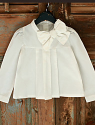 Girl Casual/Daily / Sports Solid Shirt,Cotton Winter / Fall