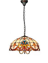 Max 60W Lampe suspendue ,  Contemporain / Traditionnel/Classique / Tiffany / Rétro / Rustique Peintures Fonctionnalité for Style mini