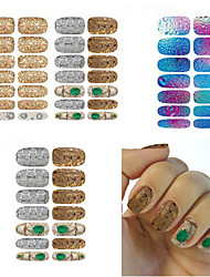 5pcs/lot Water Transfer Nail Sticker
