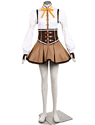 Puella Magi Madoka Cosplay Costumes Top / Hat / Skirt / Gloves / More Accessories Kid