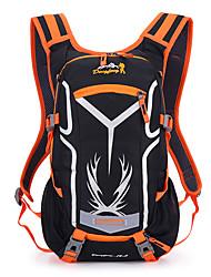 45 L Hiking & Backpacking Pack Waterproof / Wearable Green / Red / Black / Blue / Orange