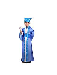Costumes de Cosplay Fête / Célébration Déguisement Halloween Bleu Ciel Couleur PleineManteau / Haut / Pantalon / Plus d'accessoires /