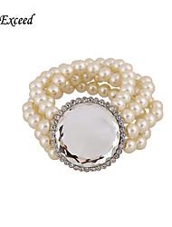 Top Quality Milk White Elegant Fashion Glass Imitation Pearl for Women BL140098